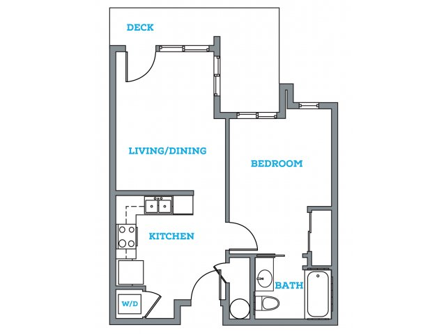 1 Bedroom 1 Bathroom Apartment for rent at The Pearl in Eugene, OR