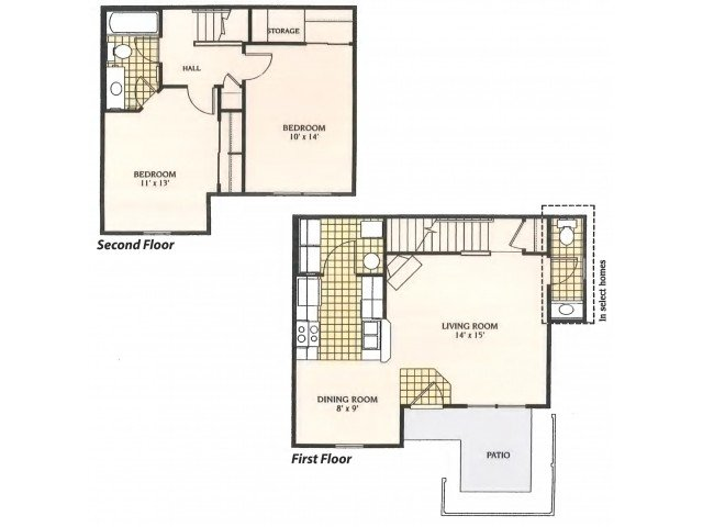 2 Bedrooms 1 Bathroom Apartment for rent at The Ridge At Chestnut Hill in Columbus, OH