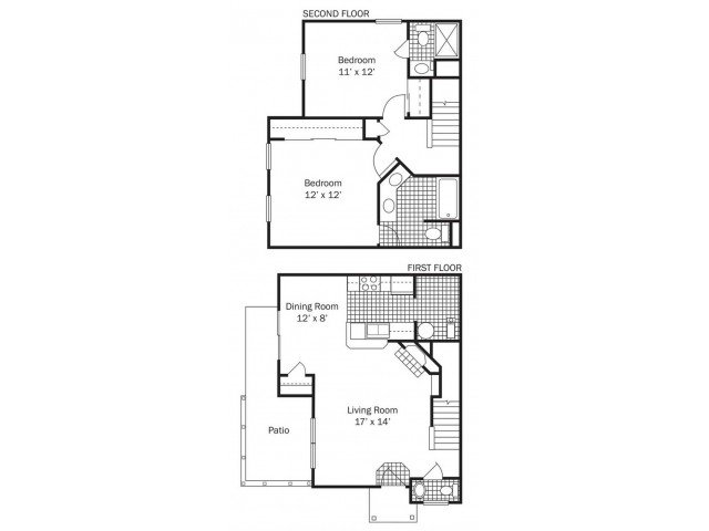 2 Bedrooms 2 Bathrooms Apartment for rent at Glenmuir in Columbus, OH
