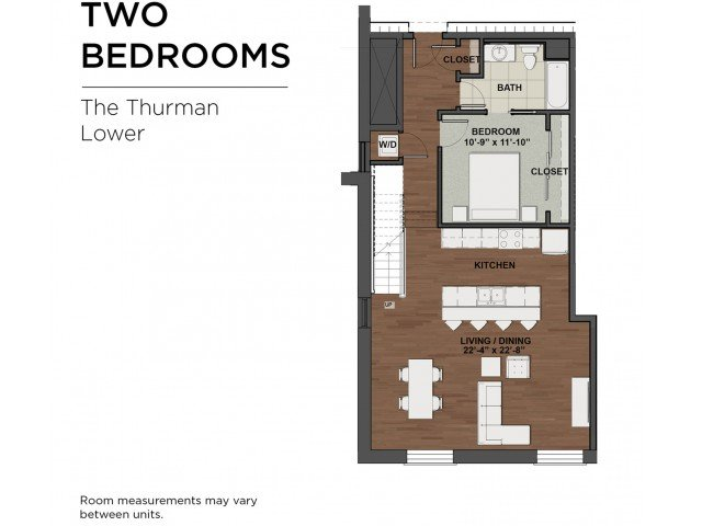 2 Bedrooms 2 Bathrooms Apartment for rent at The Barrett in Columbus, OH