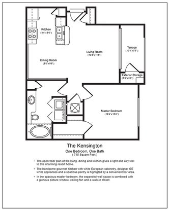 1 Bedroom 1 Bathroom Apartment for rent at Legacy At Meridian in Durham, NC