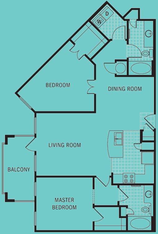 2 Bedrooms 2 Bathrooms Apartment for rent at Brookleigh Flats in Atlanta, GA