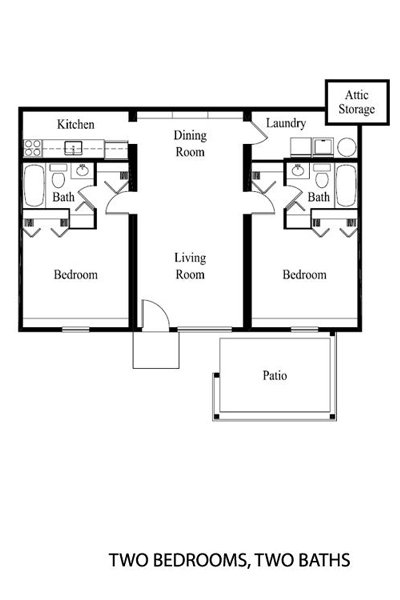 2 Bedrooms 2 Bathrooms Apartment for rent at Sandalwood in Toledo, OH