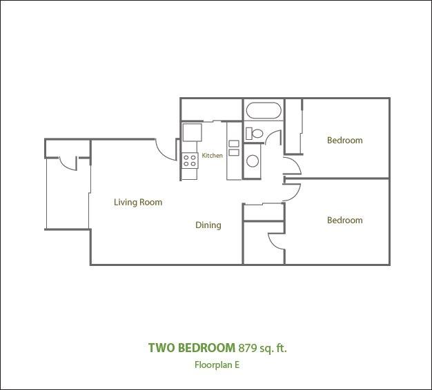 2 Bedrooms 1 Bathroom Apartment for rent at Sierra Pines Apartments in Phoenix, AZ
