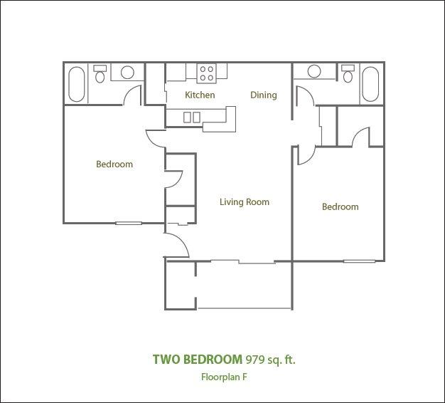2 Bedrooms 2 Bathrooms Apartment for rent at Sierra Pines Apartments in Phoenix, AZ