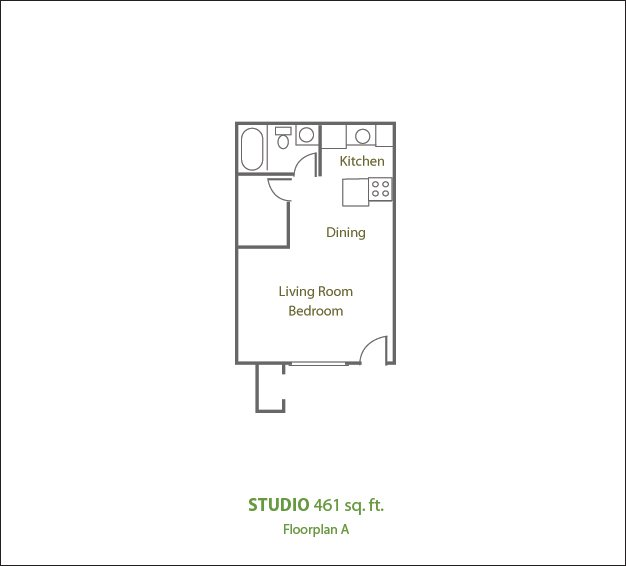 Studio 1 Bathroom Apartment for rent at Sierra Pines Apartments in Phoenix, AZ