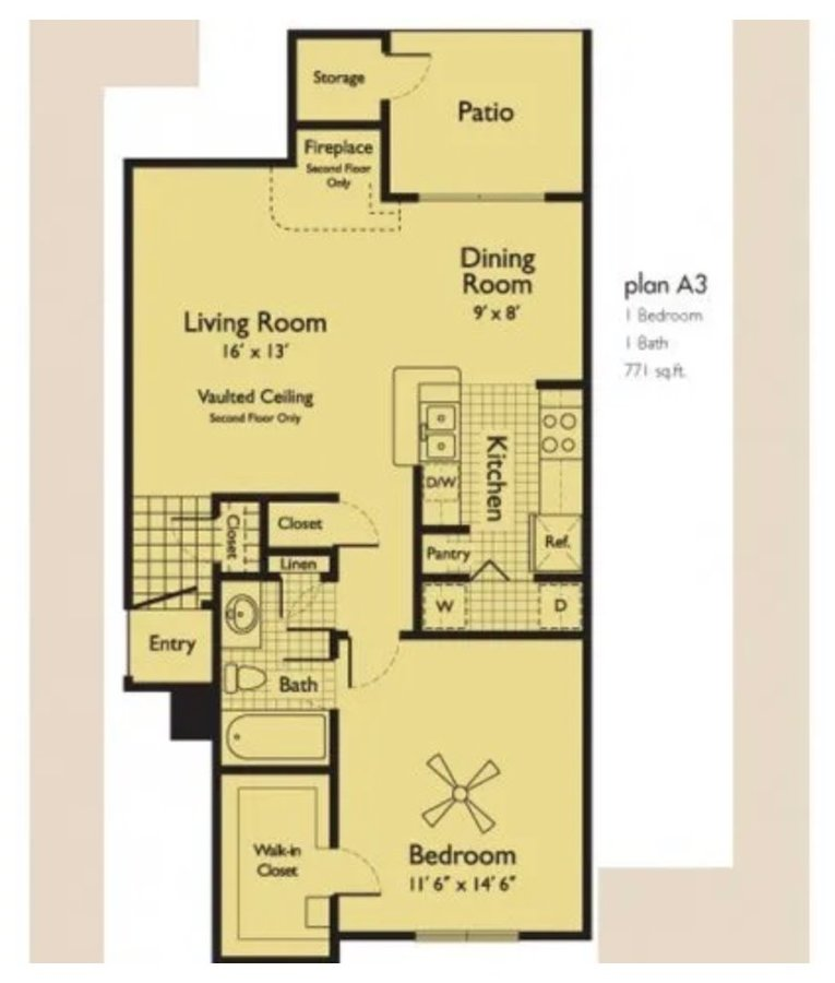 1 Bedroom 1 Bathroom Apartment for rent at Serafina At South Mountain in Phoenix, AZ