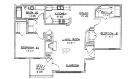 2 Bedrooms 2 Bathrooms Apartment for rent at Legacy At Festival in Montgomery, AL