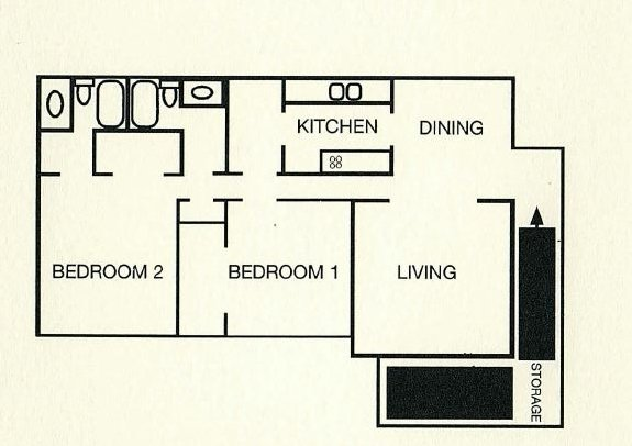 2 Bedrooms 2 Bathrooms Apartment for rent at Wildwood Apartment Homes in Birmingham, AL