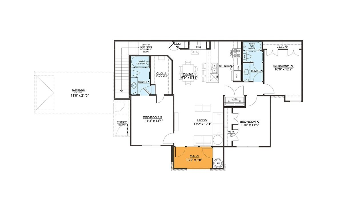 3 Bedrooms 2 Bathrooms Apartment for rent at Greens At Brentford in Houston, TX