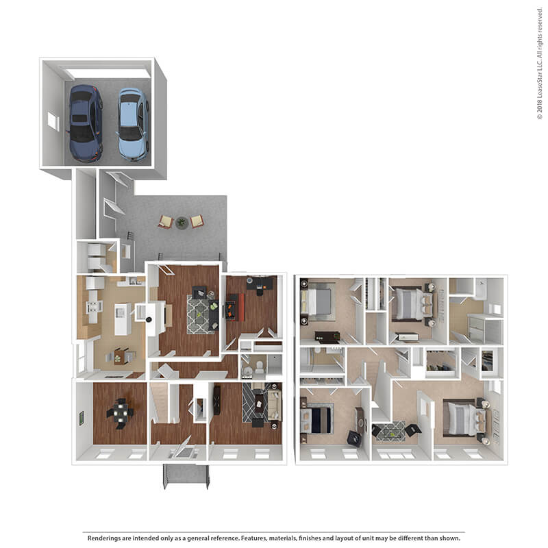 5 Bedrooms 3 Bathrooms Apartment for rent at The Villages At Belvoir - Military Housing in Fort Belvoir, VA