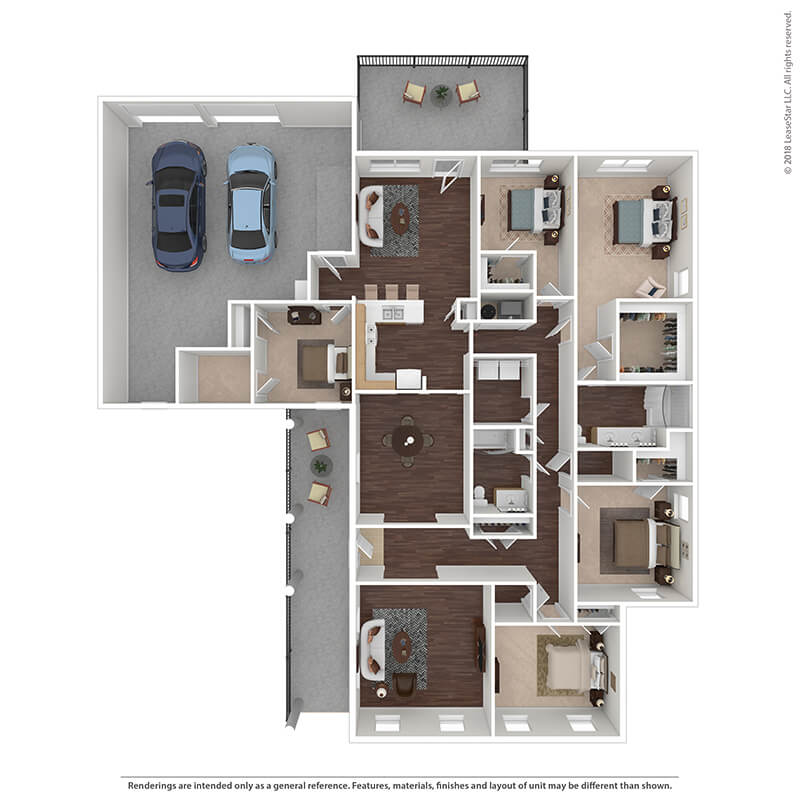 5 Bedrooms 2 Bathrooms Apartment for rent at The Villages At Belvoir - Military Housing in Fort Belvoir, VA