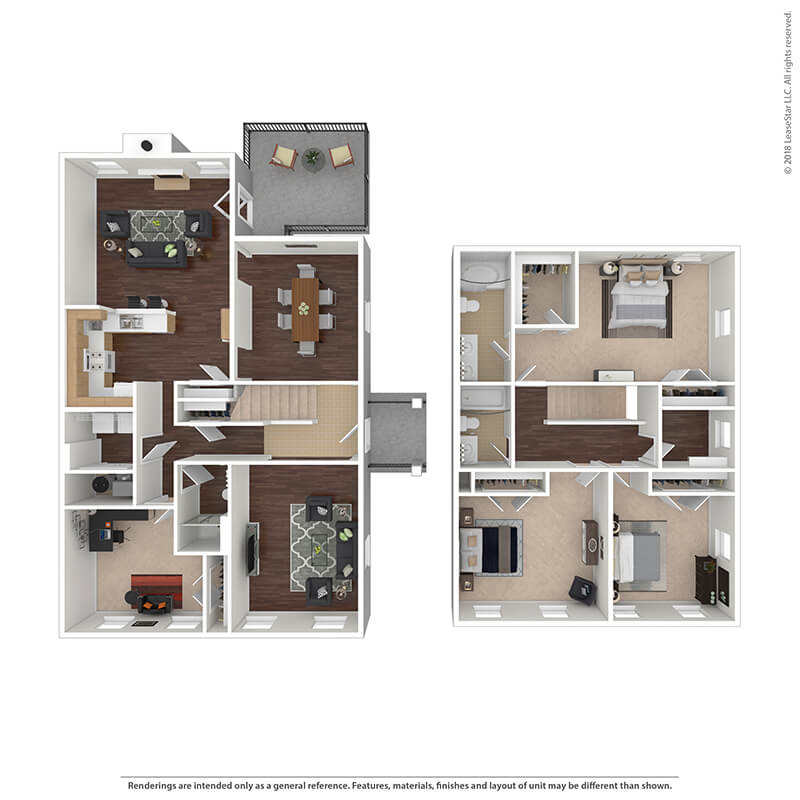 4 Bedrooms 3 Bathrooms Apartment for rent at The Villages At Belvoir - Military Housing in Fort Belvoir, VA