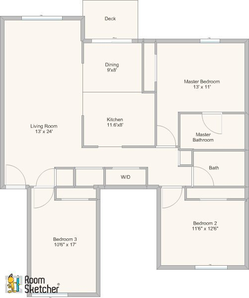 3 Bedrooms 2 Bathrooms Apartment for rent at Highland Springs in Eglin, IL