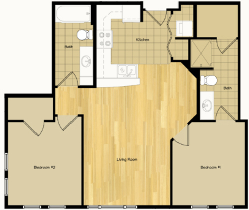 2 Bedrooms 2 Bathrooms Apartment for rent at 320 S Baldwin St in Madison, WI
