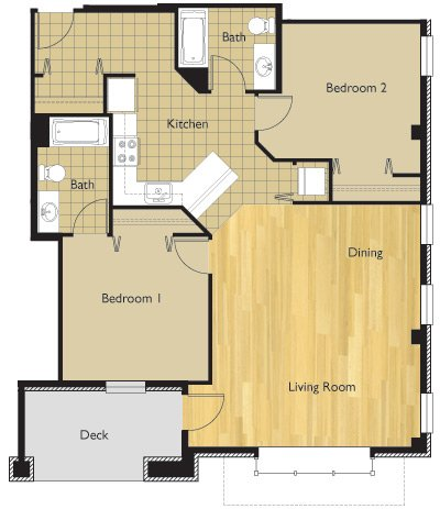2 Bedrooms 2 Bathrooms Apartment for rent at 22 E Dayton St in Madison, WI