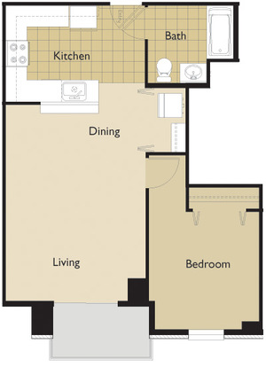 1 Bedroom 1 Bathroom Apartment for rent at 22 Dayton St in Madison, WI