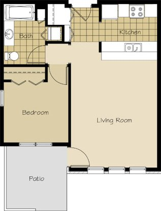 1 Bedroom 1 Bathroom Apartment for rent at 1912 Atwood Avenue in Madison, WI