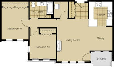2 Bedrooms 1 Bathroom Apartment for rent at 1912 Atwood Avenue in Madison, WI