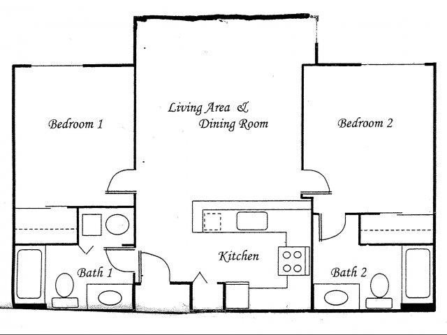 2 Bedrooms 2 Bathrooms Apartment for rent at Views At Madison Apartment Homes in Seattle, WA