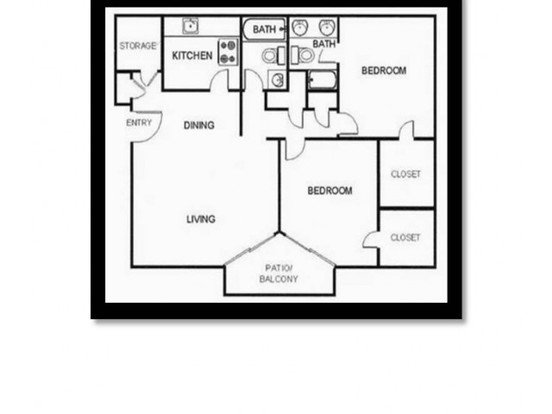 2 Bedrooms 2 Bathrooms Apartment for rent at Maple Hill Apartments in Kansas City, MO
