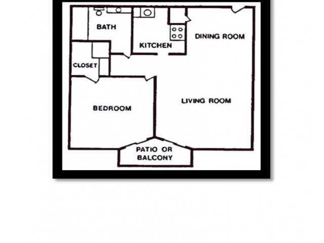 1 Bedroom 1 Bathroom Apartment for rent at Maple Hill Apartments in Kansas City, MO