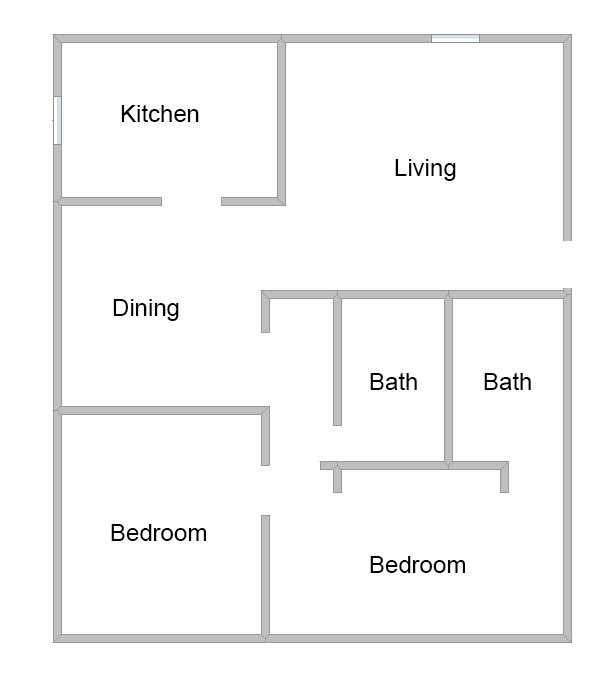 2 Bedrooms 1 Bathroom Apartment for rent at Links At Parkville in Parkville, MO