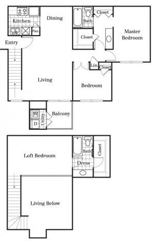 3 Bedrooms 2 Bathrooms Apartment for rent at Whispering Oaks in San Antonio, TX