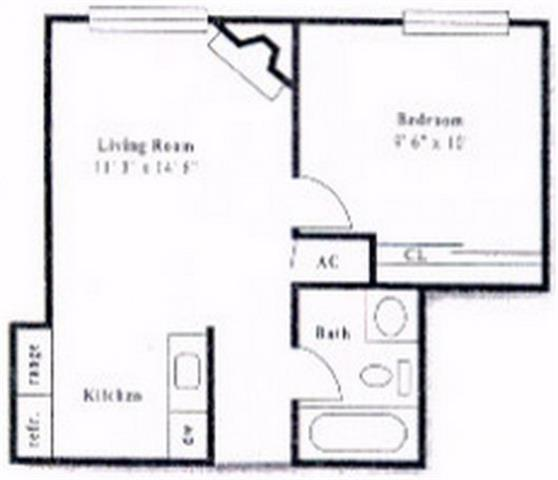 1 Bedroom 1 Bathroom Apartment for rent at Pembrooke On The Green in Denver, CO