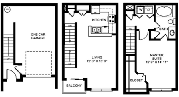 1 Bedroom 1 Bathroom Apartment for rent at The Quarry in San Antonio, TX