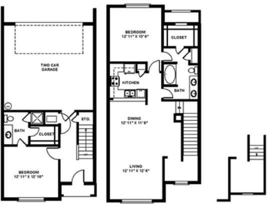 2 Bedrooms 2 Bathrooms Apartment for rent at The Quarry in San Antonio, TX