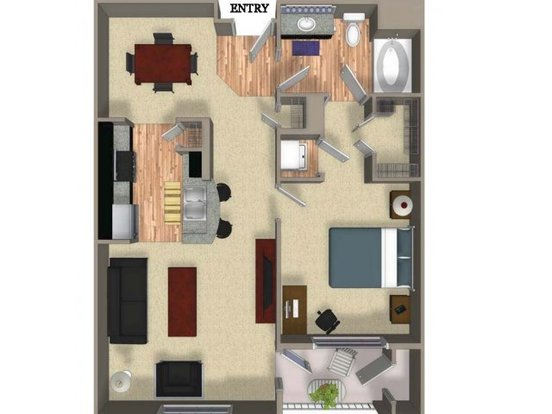 1 Bedroom 1 Bathroom Apartment for rent at Cielo Apartments in Denver, CO