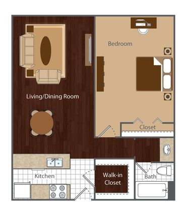 1 Bedroom 1 Bathroom Apartment for rent at Vue At Cherry Creek in Denver, CO