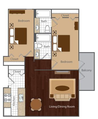 2 Bedrooms 2 Bathrooms Apartment for rent at Vue At Cherry Creek in Denver, CO