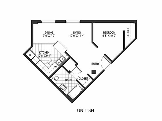 1 Bedroom 1 Bathroom Apartment for rent at City Lofts in Denver, CO
