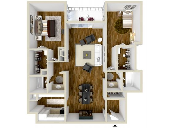 2 Bedrooms 2 Bathrooms Apartment for rent at Dayton Crossing in Denver, CO