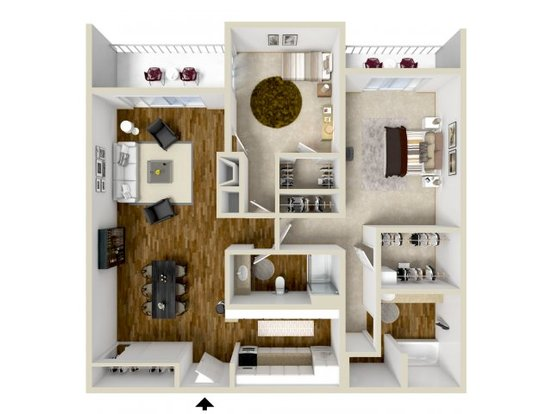 2 Bedrooms 2 Bathrooms Apartment for rent at Woodstream Village in Denver, CO