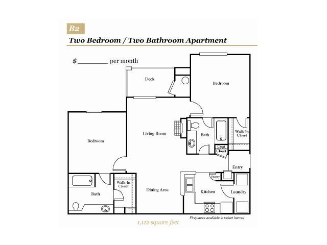 2 Bedrooms 2 Bathrooms Apartment for rent at Grove At Deane Hill in Knoxville, TN