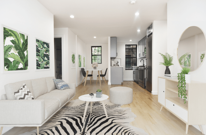 2 Bedrooms 1 Bathroom Apartment for rent at Dunbar Apartments in New York, NY