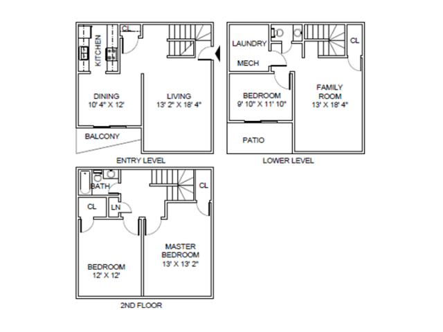 3 Bedrooms 1 Bathroom Apartment for rent at Briar Hill in Kansas City, MO