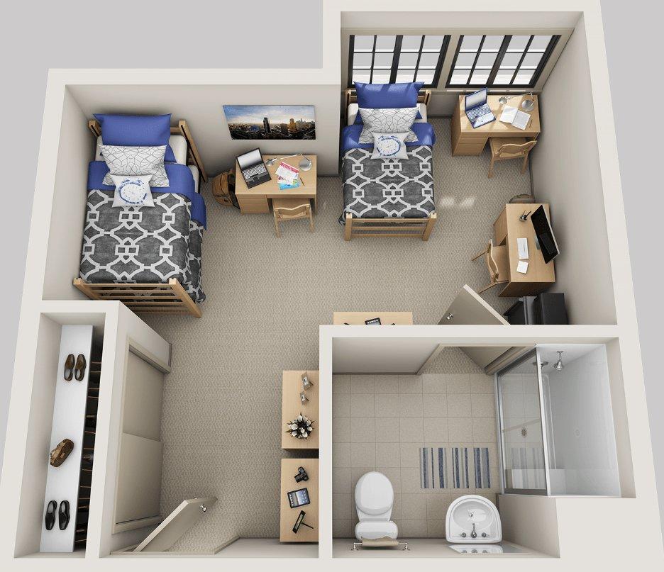 3 Bedrooms 1 Bathroom Apartment for rent at The Berk in Berkeley, CA