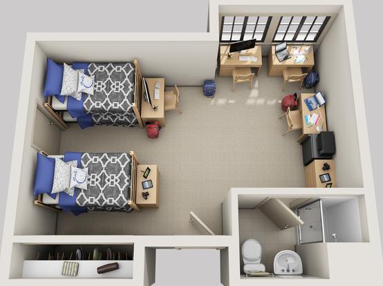 2 Bedrooms 1 Bathroom Apartment for rent at The Berk in Berkeley, CA