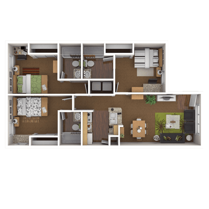 3 Bedrooms 3 Bathrooms Apartment for rent at Reserve On Perkins in Stillwater, OK