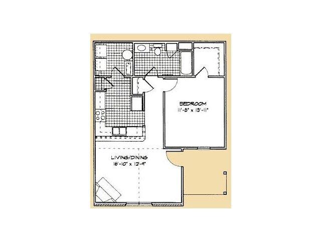1 Bedroom 1 Bathroom Apartment for rent at Lanesborough Apartments in Farragut, TN