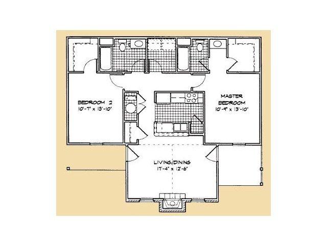 2 Bedrooms 2 Bathrooms Apartment for rent at Lanesborough Apartments in Farragut, TN