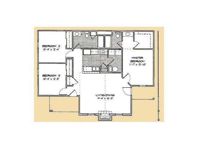 3 Bedrooms 2 Bathrooms Apartment for rent at Lanesborough Apartments in Farragut, TN