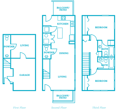 2 Bedrooms 3 Bathrooms Apartment for rent at The Villages At Curtis Park in Denver, CO
