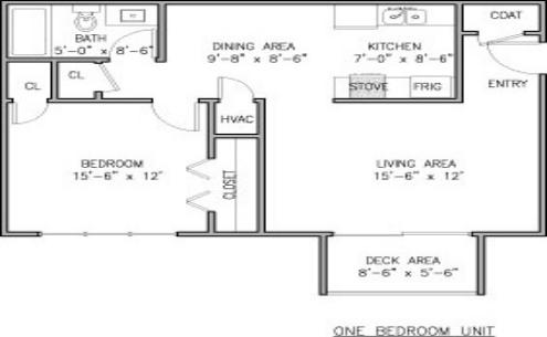 1 Bedroom 1 Bathroom Apartment for rent at Vestawood Apartments in Vestavia Hills, AL