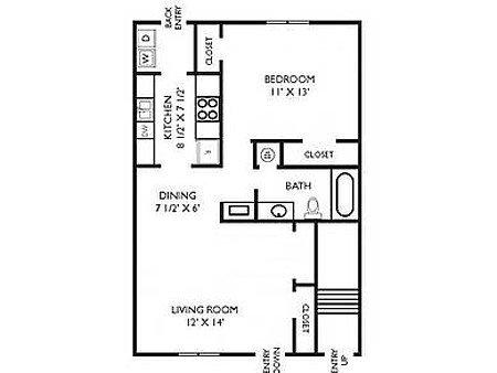 1 Bedroom 1 Bathroom Apartment for rent at Breckenridge in Birmingham, AL