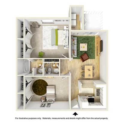 2 Bedrooms 2 Bathrooms Apartment for rent at Place At Galleria in Birmingham, AL